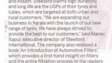 Steelbird Launches Its Range Of Two Wheeler Tyres